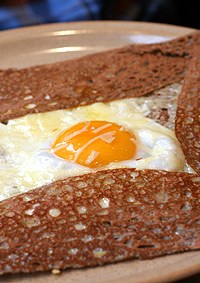 Breizh cafe buckwheat crepe galette Paris restaurant