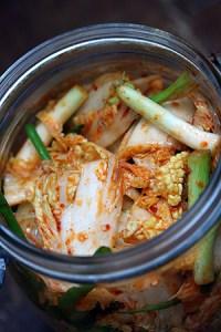 Kimchi Korean pickled cabbage