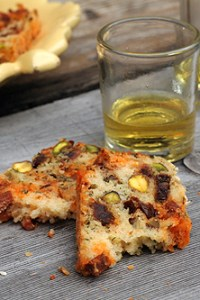 pistachio chorizo cake recipe