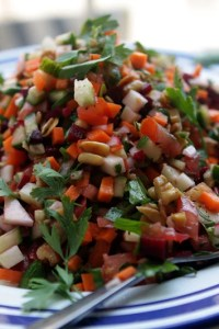vegetable wheat autumn wheat berry salad with roasted root vegetable ...