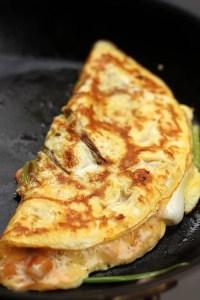 kimchi omelet recipe