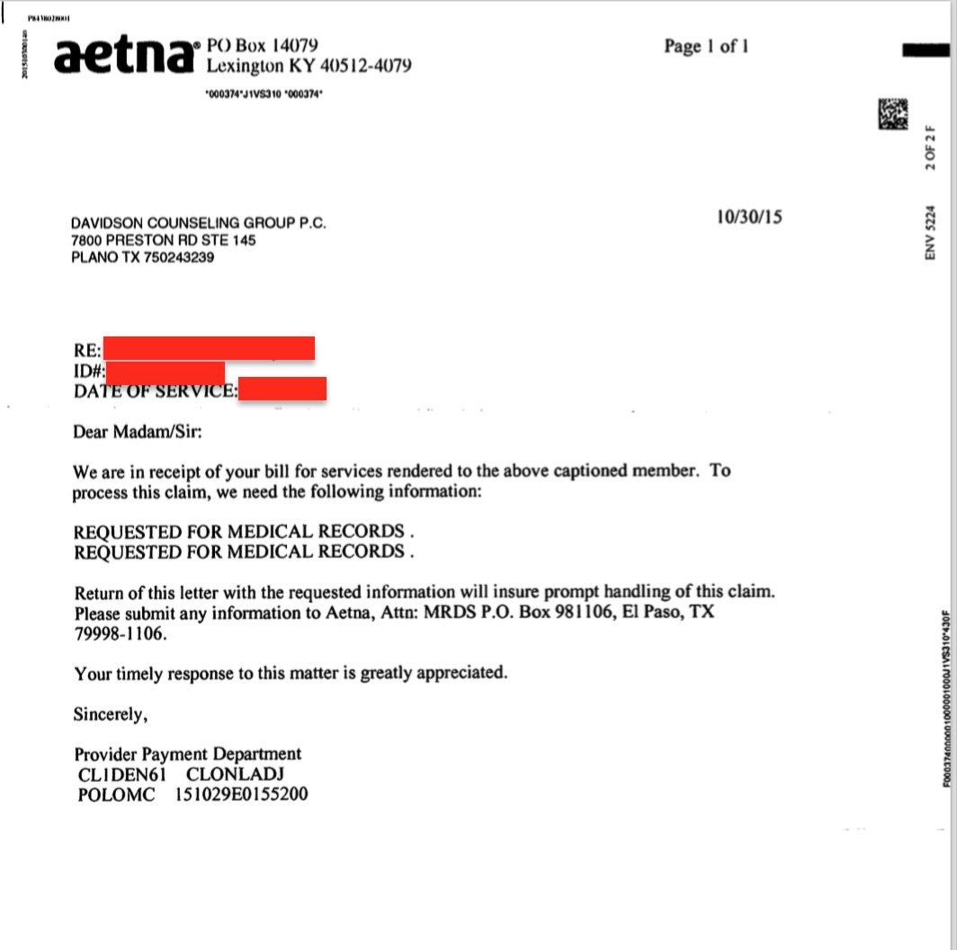 How To Write A Cover Letter When You Have No Experience Want Your Insurance Claim Paid They Want Your Records