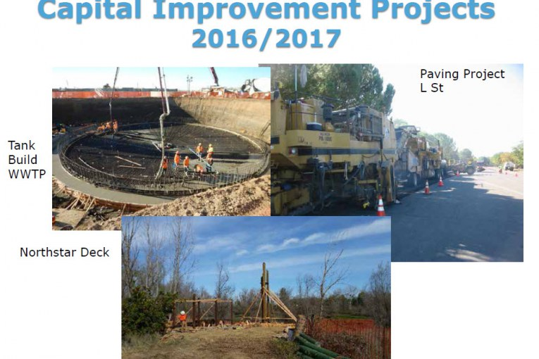 Council Receives Report on Capital Improvement Projects for 2016-17