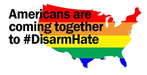 #DisarmHate.