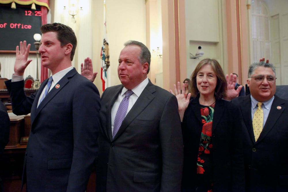 Dodd Sworn In As State Senator