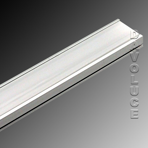 Luled Bar 01 Surface Mounted Led Strip Diffuser With Heat