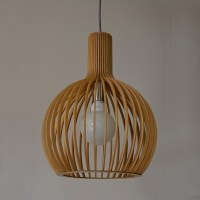 UP1001S-WD, BOLL Designer Small Timber Pendant, Davoluce ...