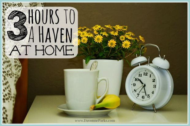 3 hours to a haven