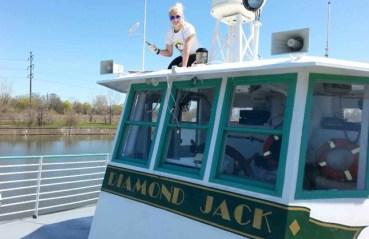$80 VALUE - 4 tickets for a 2-hour Detroit river tour by Diamond Jack's River Tours