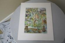 "$45 VALUE - ""Scotland"" print by artist Raymond Mancini"