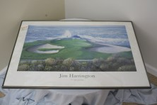 "$90 VALUE - ""7th Heaven"" framed print by Jim Harrington donated by the Art Spot"