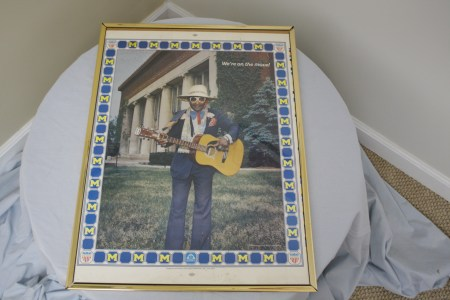 $75 VALUE - Shaky Jake framed poster donated by The Art Spot
