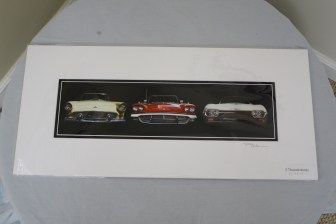 """$50 VALUE - """"3 Thunderbirds"""" photograph by artist Paul McWain"""