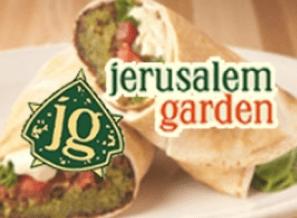 $25 gift card to Jerusalem Garden