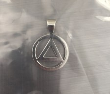 AA pendant by Ronnie's Jeweler