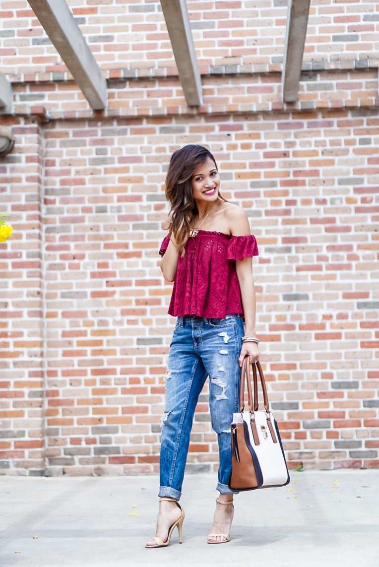 How to Dress up Boyfriend Jeans