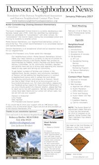 DNA newsletter January/February 2017 thumbnail
