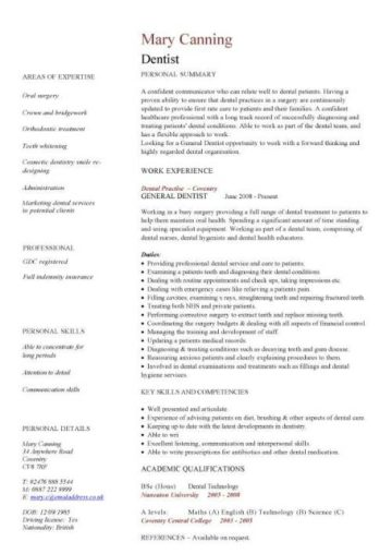 cv template for doctors pdf