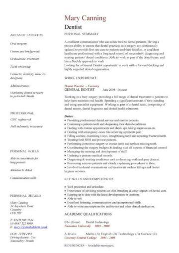 cv template for doctors pdf