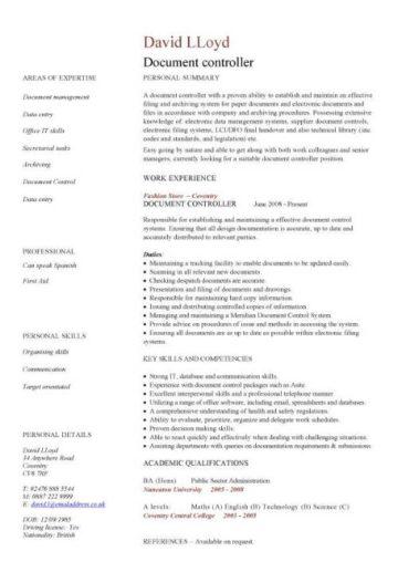 Administration CV template, free administrative CVs, administrator