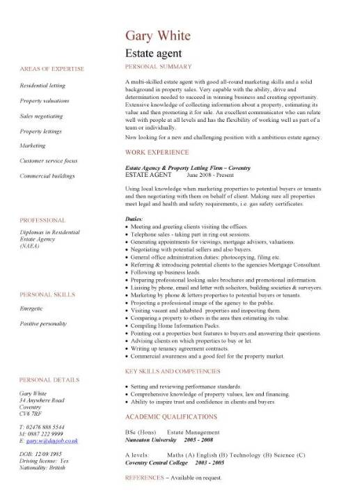 template cv travel