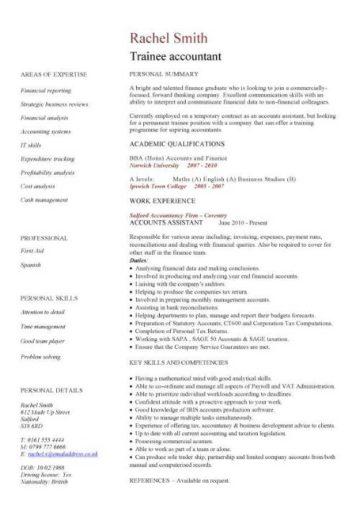 template cv finance
