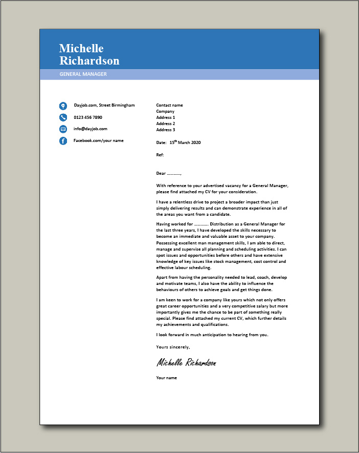cover letter builder free download