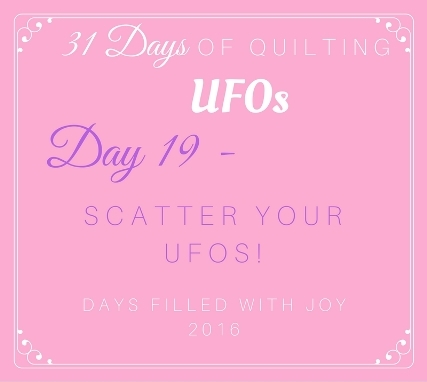 Day 19 - Scatter Your UFOs!