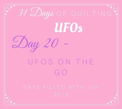 Day 20 – UFOs on the Go