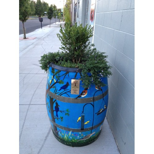 Medium Crop Of Wine Barrel Planter
