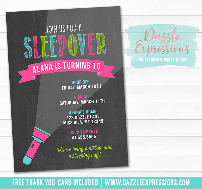 chalkboard invitations free