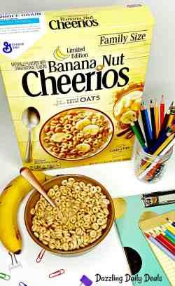 Small Of Banana Nut Cheerios