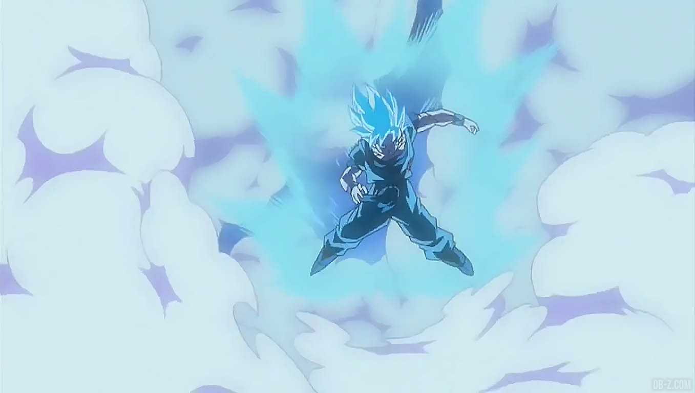 God Animation Wallpaper Goku 233 Tait Bleu Avant Que Le Ssgss Soit Cool