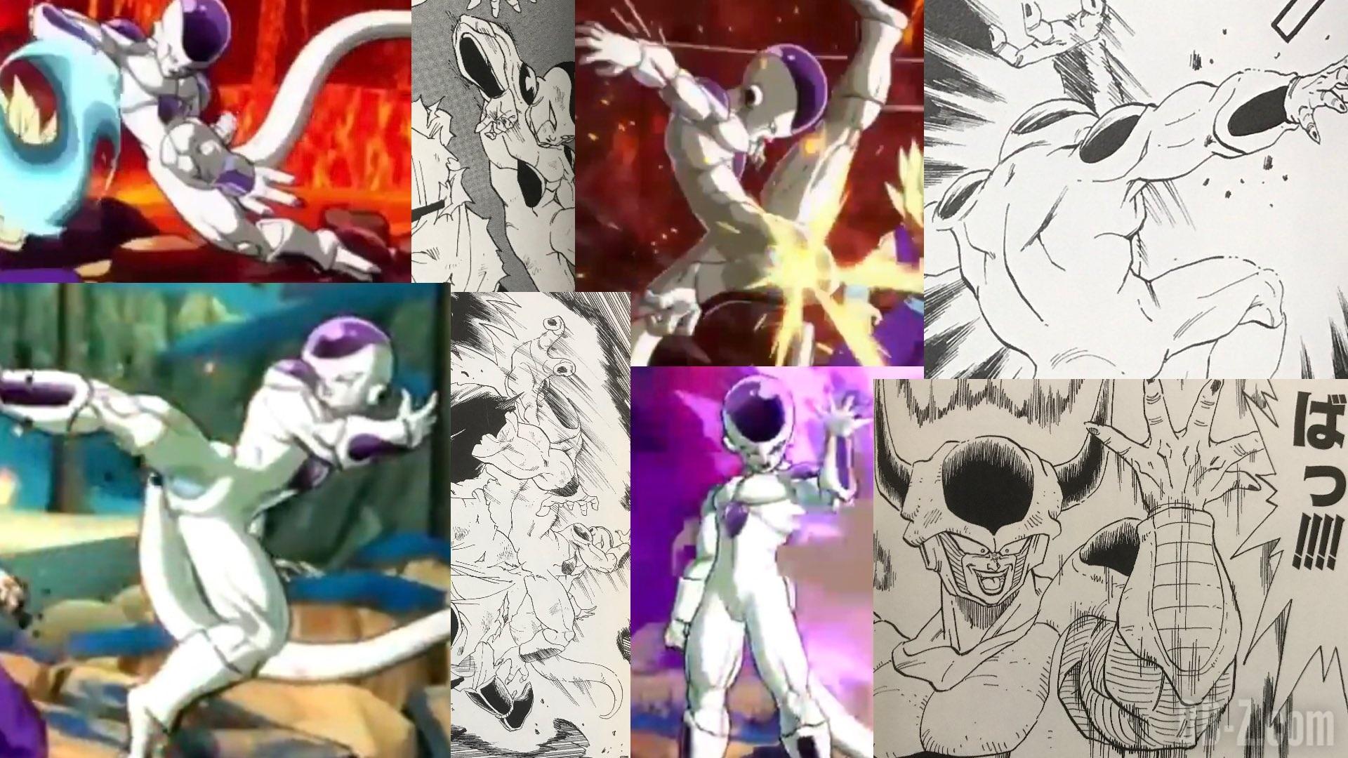 Dragon Wallpaper Hd For Pc Dragon Ball Fighterz Comparaison Avec Le Manga Dragon Ball