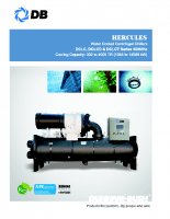 Hercules-water cooled centrifugal chillers