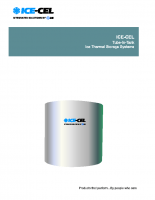 IceCel-Tube in tank-Thermal storage systems
