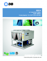 Zeus-Air cooled scroll chillers