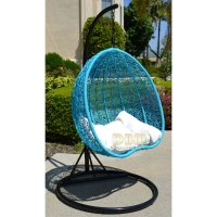 wicker egg swing chair - 28 images - cozy egg swing chair ...
