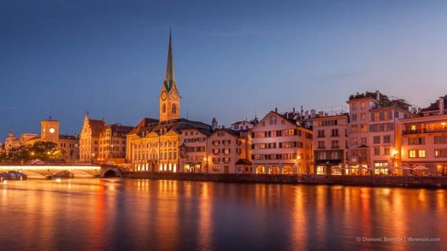 Zürich – Fraumünster und Münsterbrücke