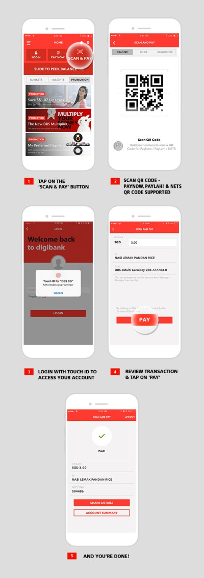 Scan and Pay | DBS Singapore