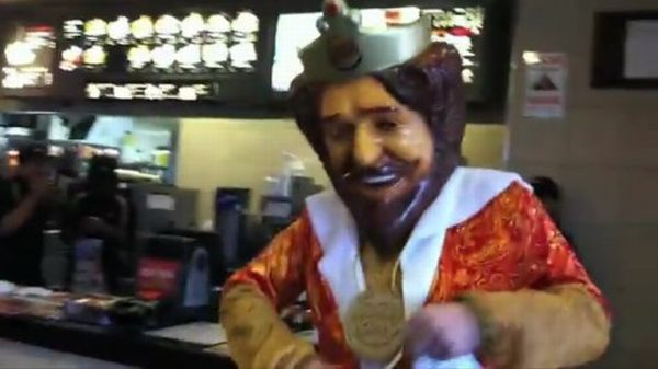Burger King Mascot Prank Goes Viral