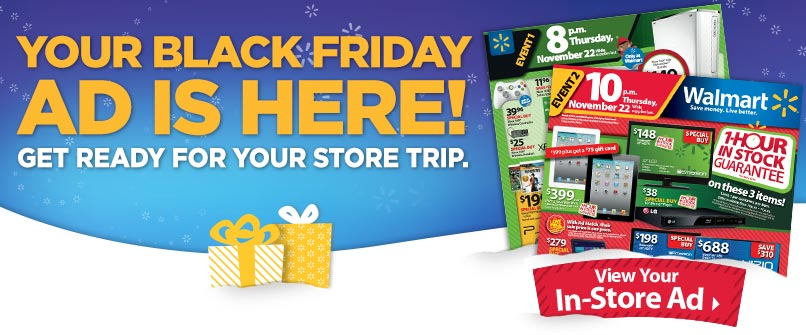 Walmat Black Friday 2012 Deals Come Early This Year