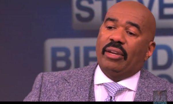 Steve Harvey Breakdown:  Comedian Gets Emotional After Getting Phone Call