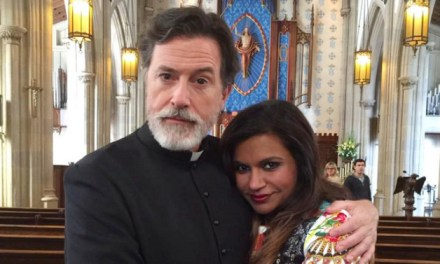 Stephen Colbert Mindy:  Colbert TO Appear On The Mindy Project