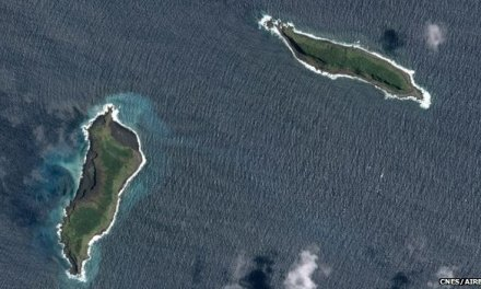 New island Tonga:  Images Reveal Formation Of New Island (PHOTO)