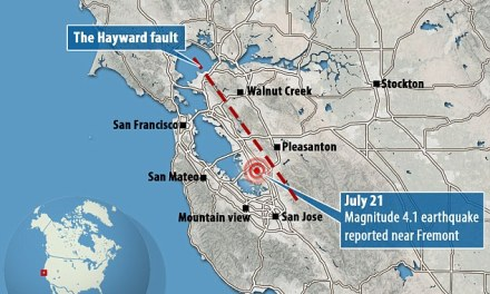 Hayward Fault:  Is The Big One About To Hit? (Photo)