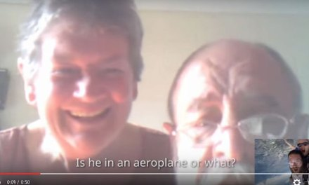 Man jumps from plane Starts Amazing Skype call with parents