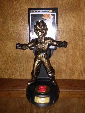 Burger King Metallic Figures: Super Saiyan Goku
