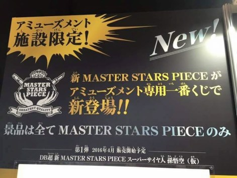 Master Stars Piece Battle Damage Goku