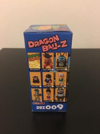 Dragon Ball Z WCF Vol. 2 Back of Box